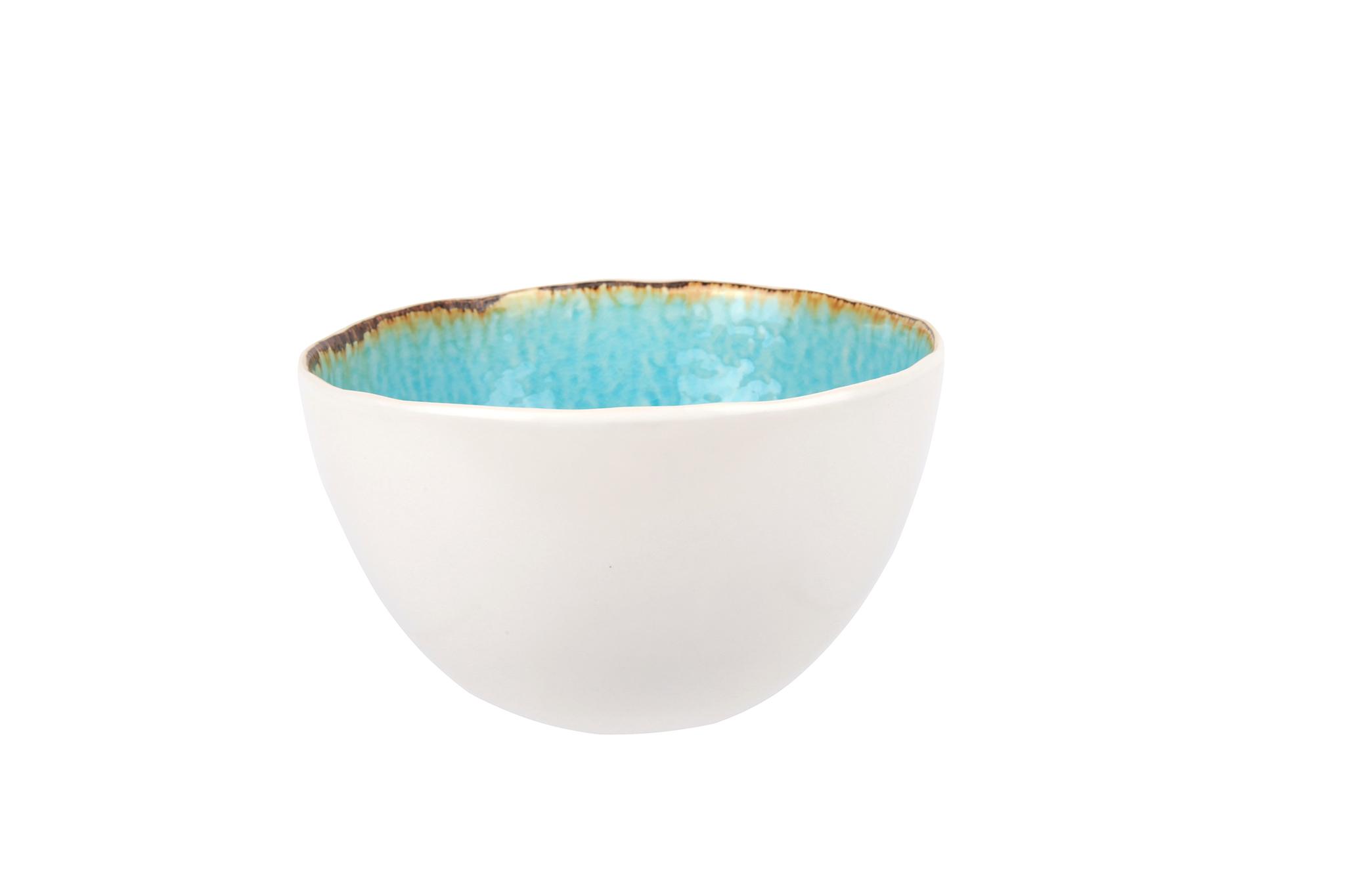 Миска 14х8,5 см COSY&amp;TRENDY Laguna azzuro 2835632Миски и чаши<br>Миска 14х8,5 см COSY&amp;TRENDY Laguna azzuro 2835632<br><br>Эта коллекция из каменной керамики поражает удивительным цветом, текстурой и формой. Ярко-голубой оттенок с волнистым рельефом погружают в райскую лагуну. Органические края для дополнительного дизайна. Коллекция Laguna Azzuro воссоздает исключительный внешний вид приготовленных блюд.<br>