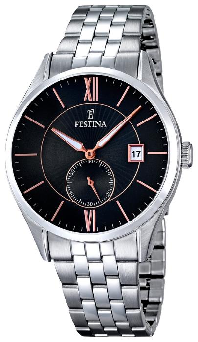 Festina F16871.4 - мужские наручные часы из коллекции ClassicFestina<br><br><br>Бренд: Festina<br>Модель: Festina F16871/4<br>Артикул: F16871.4<br>Вариант артикула: None<br>Коллекция: Classic<br>Подколлекция: None<br>Страна: Испания<br>Пол: мужские<br>Тип механизма: кварцевые<br>Механизм: MGP11<br>Количество камней: None<br>Автоподзавод: None<br>Источник энергии: от батарейки<br>Срок службы элемента питания: None<br>Дисплей: стрелки<br>Цифры: римские<br>Водозащита: WR 50<br>Противоударные: None<br>Материал корпуса: нерж. сталь<br>Материал браслета: нерж. сталь<br>Материал безеля: None<br>Стекло: минеральное<br>Антибликовое покрытие: None<br>Цвет корпуса: None<br>Цвет браслета: None<br>Цвет циферблата: None<br>Цвет безеля: None<br>Размеры: 42 мм<br>Диаметр: None<br>Диаметр корпуса: None<br>Толщина: None<br>Ширина ремешка: None<br>Вес: None<br>Спорт-функции: None<br>Подсветка: None<br>Вставка: None<br>Отображение даты: число<br>Хронограф: None<br>Таймер: None<br>Термометр: None<br>Хронометр: None<br>GPS: None<br>Радиосинхронизация: None<br>Барометр: None<br>Скелетон: None<br>Дополнительная информация: None<br>Дополнительные функции: None