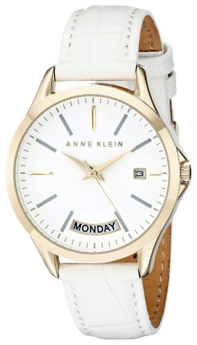Anne Klein 1976WTWT - женские наручные часы из коллекции DailyAnne Klein<br><br><br>Бренд: Anne Klein<br>Модель: Anne Klein 1976 WTWT<br>Артикул: 1976WTWT<br>Вариант артикула: None<br>Коллекция: Daily<br>Подколлекция: None<br>Страна: США<br>Пол: женские<br>Тип механизма: кварцевые<br>Механизм: None<br>Количество камней: None<br>Автоподзавод: None<br>Источник энергии: от батарейки<br>Срок службы элемента питания: None<br>Дисплей: стрелки<br>Цифры: отсутствуют<br>Водозащита: WR 30<br>Противоударные: None<br>Материал корпуса: не указан, полное покрытие корпуса<br>Материал браслета: кожа<br>Материал безеля: None<br>Стекло: минеральное<br>Антибликовое покрытие: None<br>Цвет корпуса: None<br>Цвет браслета: None<br>Цвет циферблата: None<br>Цвет безеля: None<br>Размеры: 36x10 мм<br>Диаметр: None<br>Диаметр корпуса: None<br>Толщина: None<br>Ширина ремешка: None<br>Вес: None<br>Спорт-функции: None<br>Подсветка: None<br>Вставка: None<br>Отображение даты: число, день недели<br>Хронограф: None<br>Таймер: None<br>Термометр: None<br>Хронометр: None<br>GPS: None<br>Радиосинхронизация: None<br>Барометр: None<br>Скелетон: None<br>Дополнительная информация: None<br>Дополнительные функции: None