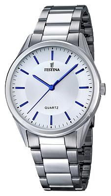 Festina F16875.3 - мужские наручные часы из коллекции ClassicFestina<br><br><br>Бренд: Festina<br>Модель: Festina F16875/3<br>Артикул: F16875.3<br>Вариант артикула: None<br>Коллекция: Classic<br>Подколлекция: None<br>Страна: Испания<br>Пол: мужские<br>Тип механизма: кварцевые<br>Механизм: M2035<br>Количество камней: None<br>Автоподзавод: None<br>Источник энергии: от батарейки<br>Срок службы элемента питания: None<br>Дисплей: стрелки<br>Цифры: отсутствуют<br>Водозащита: WR 50<br>Противоударные: None<br>Материал корпуса: нерж. сталь<br>Материал браслета: нерж. сталь<br>Материал безеля: None<br>Стекло: минеральное<br>Антибликовое покрытие: None<br>Цвет корпуса: None<br>Цвет браслета: None<br>Цвет циферблата: None<br>Цвет безеля: None<br>Размеры: 40 мм<br>Диаметр: None<br>Диаметр корпуса: None<br>Толщина: None<br>Ширина ремешка: None<br>Вес: None<br>Спорт-функции: None<br>Подсветка: None<br>Вставка: None<br>Отображение даты: None<br>Хронограф: None<br>Таймер: None<br>Термометр: None<br>Хронометр: None<br>GPS: None<br>Радиосинхронизация: None<br>Барометр: None<br>Скелетон: None<br>Дополнительная информация: None<br>Дополнительные функции: None