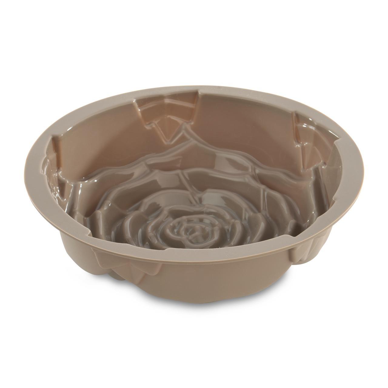 Форма для запекания силиконовая роза 25*25*8см BergHOFF Studio 1101862Формы для запекания (выпечки)<br>Официальный продавец BergHOFF<br>