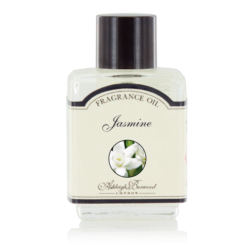 Ароматическое масло Жасмин (Масла для ламп-горелок)Масла для ламп-горелок<br>Изысканный аромат с яркими цветочными нотами. Соблазнительный и радостный теплый цветочный запах с чайным настроением.<br><br>Информация по использованию масляных ламп:<br><br>Добавьте несколько капель выбранного вами ароматического масла Ashleigh &amp; Burwood в чашу горелки и добавьте воды.<br>Поставьте невысокую свечку в лампу под чашу горелки.<br>Осторожно зажгите свечку, и пламя нагреет чашу, наполняя комнату прекрасным ароматом.<br><br>Не применяйте масло без добавления воды! Нарушение правил использования может привести к брызгам, задымлению или возгоранию.<br>