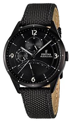 Festina F16849.3 - мужские наручные часы из коллекции RetrogradeFestina<br><br><br>Бренд: Festina<br>Модель: Festina F16849/3<br>Артикул: F16849.3<br>Вариант артикула: None<br>Коллекция: Retrograde<br>Подколлекция: None<br>Страна: Испания<br>Пол: мужские<br>Тип механизма: кварцевые<br>Механизм: MJR10<br>Количество камней: None<br>Автоподзавод: None<br>Источник энергии: от батарейки<br>Срок службы элемента питания: None<br>Дисплей: стрелки<br>Цифры: арабские<br>Водозащита: WR 50<br>Противоударные: None<br>Материал корпуса: нерж. сталь, полное покрытие корпуса<br>Материал браслета: текстиль<br>Материал безеля: None<br>Стекло: минеральное<br>Антибликовое покрытие: None<br>Цвет корпуса: None<br>Цвет браслета: None<br>Цвет циферблата: None<br>Цвет безеля: None<br>Размеры: 41 мм<br>Диаметр: None<br>Диаметр корпуса: None<br>Толщина: None<br>Ширина ремешка: None<br>Вес: None<br>Спорт-функции: None<br>Подсветка: None<br>Вставка: None<br>Отображение даты: число, день недели<br>Хронограф: None<br>Таймер: None<br>Термометр: None<br>Хронометр: None<br>GPS: None<br>Радиосинхронизация: None<br>Барометр: None<br>Скелетон: None<br>Дополнительная информация: None<br>Дополнительные функции: None