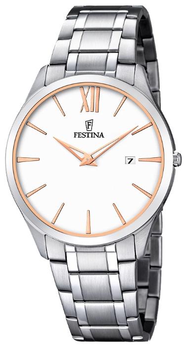 Festina F6832.3 - мужские наручные часы из коллекции ClassicFestina<br><br><br>Бренд: Festina<br>Модель: Festina F6832/3<br>Артикул: F6832.3<br>Вариант артикула: None<br>Коллекция: Classic<br>Подколлекция: None<br>Страна: Испания<br>Пол: мужские<br>Тип механизма: кварцевые<br>Механизм: M9U15<br>Количество камней: None<br>Автоподзавод: None<br>Источник энергии: от батарейки<br>Срок службы элемента питания: None<br>Дисплей: стрелки<br>Цифры: римские<br>Водозащита: WR 30<br>Противоударные: None<br>Материал корпуса: нерж. сталь<br>Материал браслета: нерж. сталь<br>Материал безеля: None<br>Стекло: минеральное<br>Антибликовое покрытие: None<br>Цвет корпуса: None<br>Цвет браслета: None<br>Цвет циферблата: None<br>Цвет безеля: None<br>Размеры: 40 мм<br>Диаметр: None<br>Диаметр корпуса: None<br>Толщина: None<br>Ширина ремешка: None<br>Вес: None<br>Спорт-функции: None<br>Подсветка: None<br>Вставка: None<br>Отображение даты: число<br>Хронограф: None<br>Таймер: None<br>Термометр: None<br>Хронометр: None<br>GPS: None<br>Радиосинхронизация: None<br>Барометр: None<br>Скелетон: None<br>Дополнительная информация: None<br>Дополнительные функции: None
