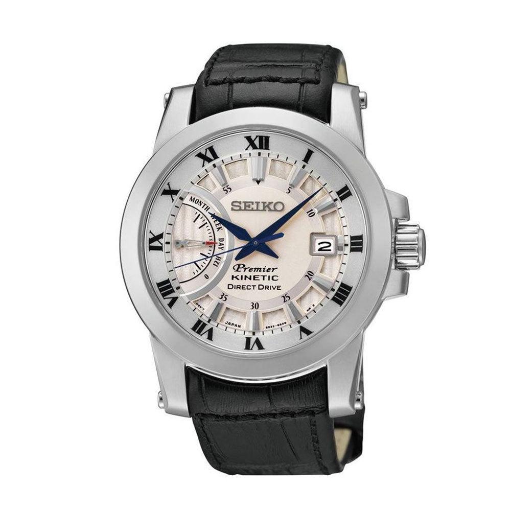 Наручные часы SeikoSeiko Premier<br>Индикатор Direct Drive, индикатор вырабатываемой энергии<br>