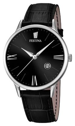 Festina F16824.4 - мужские наручные часы из коллекции ClassicFestina<br><br><br>Бренд: Festina<br>Модель: Festina F16824/4<br>Артикул: F16824.4<br>Вариант артикула: None<br>Коллекция: Classic<br>Подколлекция: None<br>Страна: Испания<br>Пол: мужские<br>Тип механизма: кварцевые<br>Механизм: None<br>Количество камней: None<br>Автоподзавод: None<br>Источник энергии: от батарейки<br>Срок службы элемента питания: None<br>Дисплей: стрелки<br>Цифры: римские<br>Водозащита: WR 50<br>Противоударные: None<br>Материал корпуса: нерж. сталь<br>Материал браслета: кожа (не указан)<br>Материал безеля: None<br>Стекло: минеральное<br>Антибликовое покрытие: None<br>Цвет корпуса: None<br>Цвет браслета: None<br>Цвет циферблата: None<br>Цвет безеля: None<br>Размеры: 42 мм<br>Диаметр: None<br>Диаметр корпуса: None<br>Толщина: None<br>Ширина ремешка: None<br>Вес: None<br>Спорт-функции: None<br>Подсветка: стрелок<br>Вставка: None<br>Отображение даты: число<br>Хронограф: None<br>Таймер: None<br>Термометр: None<br>Хронометр: None<br>GPS: None<br>Радиосинхронизация: None<br>Барометр: None<br>Скелетон: None<br>Дополнительная информация: None<br>Дополнительные функции: None