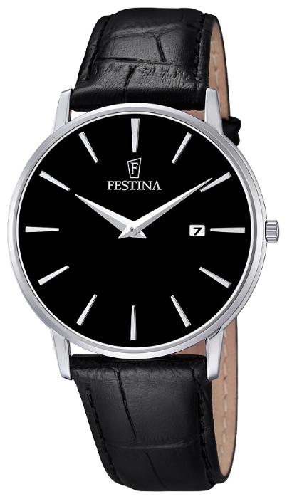 Festina F6831.4 - мужские наручные часы из коллекции ClassicFestina<br><br><br>Бренд: Festina<br>Модель: Festina F6831/4<br>Артикул: F6831.4<br>Вариант артикула: None<br>Коллекция: Classic<br>Подколлекция: None<br>Страна: Испания<br>Пол: мужские<br>Тип механизма: кварцевые<br>Механизм: M9U15<br>Количество камней: None<br>Автоподзавод: None<br>Источник энергии: от батарейки<br>Срок службы элемента питания: None<br>Дисплей: стрелки<br>Цифры: отсутствуют<br>Водозащита: WR 30<br>Противоударные: None<br>Материал корпуса: нерж. сталь<br>Материал браслета: кожа<br>Материал безеля: None<br>Стекло: минеральное<br>Антибликовое покрытие: None<br>Цвет корпуса: None<br>Цвет браслета: None<br>Цвет циферблата: None<br>Цвет безеля: None<br>Размеры: 40 мм<br>Диаметр: None<br>Диаметр корпуса: None<br>Толщина: None<br>Ширина ремешка: None<br>Вес: None<br>Спорт-функции: None<br>Подсветка: None<br>Вставка: None<br>Отображение даты: число<br>Хронограф: None<br>Таймер: None<br>Термометр: None<br>Хронометр: None<br>GPS: None<br>Радиосинхронизация: None<br>Барометр: None<br>Скелетон: None<br>Дополнительная информация: None<br>Дополнительные функции: None