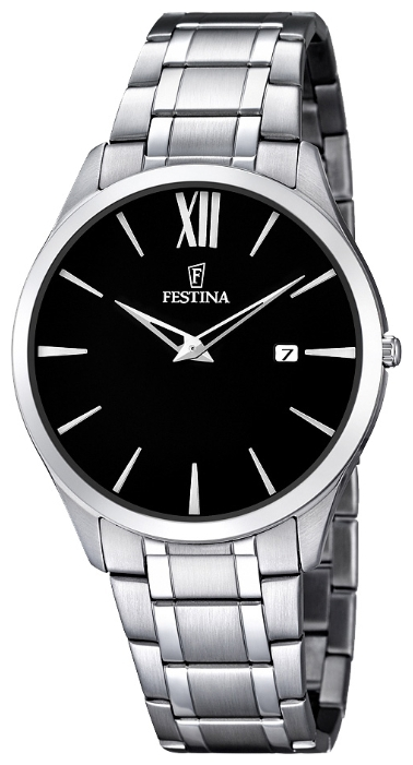 Festina F6832.4 - мужские наручные часы из коллекции ClassicFestina<br><br><br>Бренд: Festina<br>Модель: Festina F6832/4<br>Артикул: F6832.4<br>Вариант артикула: None<br>Коллекция: Classic<br>Подколлекция: None<br>Страна: Испания<br>Пол: мужские<br>Тип механизма: кварцевые<br>Механизм: M9U15<br>Количество камней: None<br>Автоподзавод: None<br>Источник энергии: от батарейки<br>Срок службы элемента питания: None<br>Дисплей: стрелки<br>Цифры: римские<br>Водозащита: WR 30<br>Противоударные: None<br>Материал корпуса: нерж. сталь<br>Материал браслета: нерж. сталь<br>Материал безеля: None<br>Стекло: минеральное<br>Антибликовое покрытие: None<br>Цвет корпуса: None<br>Цвет браслета: None<br>Цвет циферблата: None<br>Цвет безеля: None<br>Размеры: 40 мм<br>Диаметр: None<br>Диаметр корпуса: None<br>Толщина: None<br>Ширина ремешка: None<br>Вес: None<br>Спорт-функции: None<br>Подсветка: None<br>Вставка: None<br>Отображение даты: число<br>Хронограф: None<br>Таймер: None<br>Термометр: None<br>Хронометр: None<br>GPS: None<br>Радиосинхронизация: None<br>Барометр: None<br>Скелетон: None<br>Дополнительная информация: None<br>Дополнительные функции: None