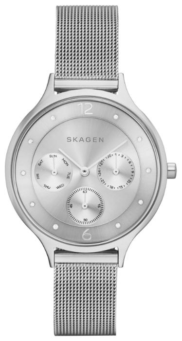 Skagen SKW2312 - женские наручные часы из коллекции MeshSkagen<br><br><br>Бренд: Skagen<br>Модель: Skagen SKW2312<br>Артикул: SKW2312<br>Вариант артикула: None<br>Коллекция: Mesh<br>Подколлекция: None<br>Страна: Дания<br>Пол: женские<br>Тип механизма: кварцевые<br>Механизм: None<br>Количество камней: None<br>Автоподзавод: None<br>Источник энергии: от батарейки<br>Срок службы элемента питания: None<br>Дисплей: стрелки<br>Цифры: арабские<br>Водозащита: WR 30<br>Противоударные: None<br>Материал корпуса: нерж. сталь<br>Материал браслета: нерж. сталь<br>Материал безеля: None<br>Стекло: минеральное<br>Антибликовое покрытие: None<br>Цвет корпуса: None<br>Цвет браслета: None<br>Цвет циферблата: None<br>Цвет безеля: None<br>Размеры: None<br>Диаметр: None<br>Диаметр корпуса: None<br>Толщина: None<br>Ширина ремешка: None<br>Вес: None<br>Спорт-функции: None<br>Подсветка: None<br>Вставка: None<br>Отображение даты: число, день недели<br>Хронограф: None<br>Таймер: None<br>Термометр: None<br>Хронометр: None<br>GPS: None<br>Радиосинхронизация: None<br>Барометр: None<br>Скелетон: None<br>Дополнительная информация: None<br>Дополнительные функции: None