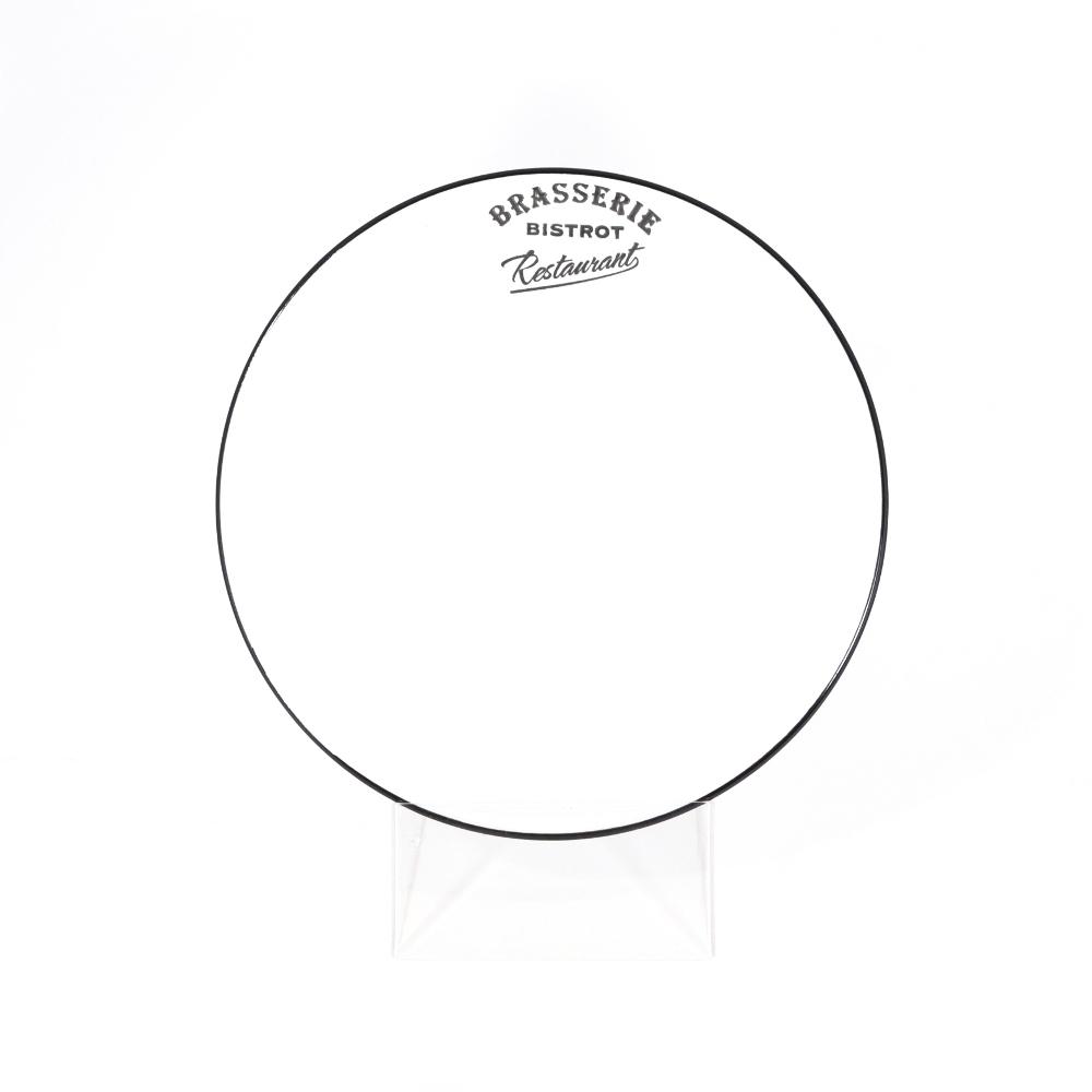 Тарелка десертная 21,5 см белая (Фарфор и керамика Antic Line, Франция)Фарфор и керамика Antic Line, Франция<br>Тарелка десертная 21,5 см белая<br>Керамика, стилизовано под эмалированный металл<br>Производитель: Antic Line, Франция<br>