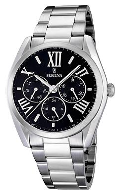 Festina F16750.2 - женские наручные часы из коллекции ClassicFestina<br><br><br>Бренд: Festina<br>Модель: Festina F16750/2<br>Артикул: F16750.2<br>Вариант артикула: None<br>Коллекция: Classic<br>Подколлекция: None<br>Страна: Испания<br>Пол: женские<br>Тип механизма: кварцевые<br>Механизм: M6P29<br>Количество камней: None<br>Автоподзавод: None<br>Источник энергии: от батарейки<br>Срок службы элемента питания: None<br>Дисплей: стрелки<br>Цифры: римские<br>Водозащита: WR 50<br>Противоударные: None<br>Материал корпуса: нерж. сталь<br>Материал браслета: нерж. сталь<br>Материал безеля: None<br>Стекло: минеральное<br>Антибликовое покрытие: None<br>Цвет корпуса: None<br>Цвет браслета: None<br>Цвет циферблата: None<br>Цвет безеля: None<br>Размеры: 42.2 мм<br>Диаметр: None<br>Диаметр корпуса: None<br>Толщина: None<br>Ширина ремешка: None<br>Вес: None<br>Спорт-функции: None<br>Подсветка: None<br>Вставка: None<br>Отображение даты: число, день недели<br>Хронограф: None<br>Таймер: None<br>Термометр: None<br>Хронометр: None<br>GPS: None<br>Радиосинхронизация: None<br>Барометр: None<br>Скелетон: None<br>Дополнительная информация: None<br>Дополнительные функции: None