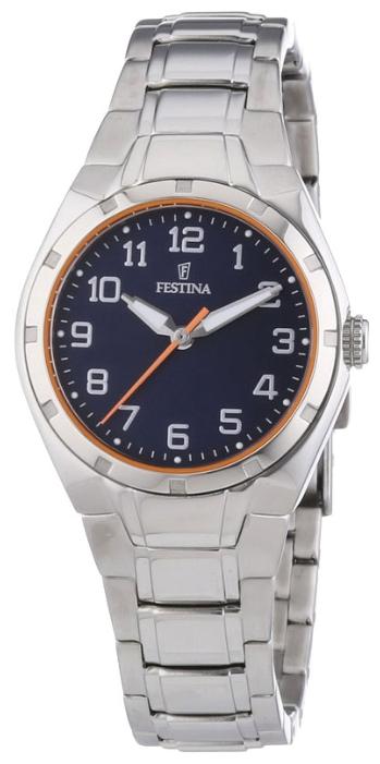 Festina F16485.B - женские наручные часы из коллекции SportFestina<br><br><br>Бренд: Festina<br>Модель: Festina F16485/B<br>Артикул: F16485.B<br>Вариант артикула: None<br>Коллекция: Sport<br>Подколлекция: None<br>Страна: Испания<br>Пол: женские<br>Тип механизма: кварцевые<br>Механизм: None<br>Количество камней: None<br>Автоподзавод: None<br>Источник энергии: от батарейки<br>Срок службы элемента питания: None<br>Дисплей: стрелки<br>Цифры: арабские<br>Водозащита: WR 30<br>Противоударные: None<br>Материал корпуса: нерж. сталь<br>Материал браслета: нерж. сталь<br>Материал безеля: None<br>Стекло: минеральное<br>Антибликовое покрытие: None<br>Цвет корпуса: None<br>Цвет браслета: None<br>Цвет циферблата: None<br>Цвет безеля: None<br>Размеры: 37x8 мм<br>Диаметр: None<br>Диаметр корпуса: None<br>Толщина: None<br>Ширина ремешка: None<br>Вес: None<br>Спорт-функции: None<br>Подсветка: стрелок<br>Вставка: None<br>Отображение даты: None<br>Хронограф: None<br>Таймер: None<br>Термометр: None<br>Хронометр: None<br>GPS: None<br>Радиосинхронизация: None<br>Барометр: None<br>Скелетон: None<br>Дополнительная информация: None<br>Дополнительные функции: None