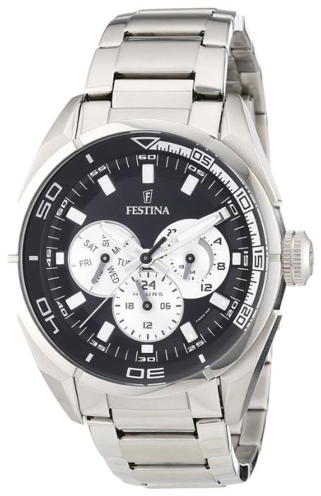 Festina F16608.5 - мужские наручные часы из коллекции MultifunctionFestina<br><br><br>Бренд: Festina<br>Модель: Festina F16608/5<br>Артикул: F16608.5<br>Вариант артикула: None<br>Коллекция: Multifunction<br>Подколлекция: None<br>Страна: Испания<br>Пол: мужские<br>Тип механизма: кварцевые<br>Механизм: None<br>Количество камней: None<br>Автоподзавод: None<br>Источник энергии: от батарейки<br>Срок службы элемента питания: None<br>Дисплей: стрелки<br>Цифры: отсутствуют<br>Водозащита: WR 50<br>Противоударные: None<br>Материал корпуса: нерж. сталь<br>Материал браслета: нерж. сталь<br>Материал безеля: None<br>Стекло: минеральное<br>Антибликовое покрытие: None<br>Цвет корпуса: None<br>Цвет браслета: None<br>Цвет циферблата: None<br>Цвет безеля: None<br>Размеры: 44x12 мм<br>Диаметр: None<br>Диаметр корпуса: None<br>Толщина: None<br>Ширина ремешка: None<br>Вес: None<br>Спорт-функции: None<br>Подсветка: стрелок<br>Вставка: None<br>Отображение даты: число, день недели<br>Хронограф: None<br>Таймер: None<br>Термометр: None<br>Хронометр: None<br>GPS: None<br>Радиосинхронизация: None<br>Барометр: None<br>Скелетон: None<br>Дополнительная информация: None<br>Дополнительные функции: None