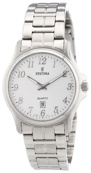 Festina F16474.2 - женские наручные часы из коллекции ClassicFestina<br><br><br>Бренд: Festina<br>Модель: Festina F16474/2<br>Артикул: F16474.2<br>Вариант артикула: None<br>Коллекция: Classic<br>Подколлекция: None<br>Страна: Испания<br>Пол: женские<br>Тип механизма: кварцевые<br>Механизм: None<br>Количество камней: None<br>Автоподзавод: None<br>Источник энергии: от батарейки<br>Срок службы элемента питания: None<br>Дисплей: стрелки<br>Цифры: арабские<br>Водозащита: WR 30<br>Противоударные: None<br>Материал корпуса: нерж. сталь<br>Материал браслета: нерж. сталь<br>Материал безеля: None<br>Стекло: минеральное<br>Антибликовое покрытие: None<br>Цвет корпуса: None<br>Цвет браслета: None<br>Цвет циферблата: None<br>Цвет безеля: None<br>Размеры: 32 мм<br>Диаметр: None<br>Диаметр корпуса: None<br>Толщина: None<br>Ширина ремешка: None<br>Вес: None<br>Спорт-функции: None<br>Подсветка: None<br>Вставка: None<br>Отображение даты: число<br>Хронограф: None<br>Таймер: None<br>Термометр: None<br>Хронометр: None<br>GPS: None<br>Радиосинхронизация: None<br>Барометр: None<br>Скелетон: None<br>Дополнительная информация: None<br>Дополнительные функции: None
