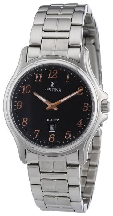 Festina F16474.6 - женские наручные часы из коллекции ClassicFestina<br><br><br>Бренд: Festina<br>Модель: Festina F16474/6<br>Артикул: F16474.6<br>Вариант артикула: None<br>Коллекция: Classic<br>Подколлекция: None<br>Страна: Испания<br>Пол: женские<br>Тип механизма: кварцевые<br>Механизм: None<br>Количество камней: None<br>Автоподзавод: None<br>Источник энергии: от батарейки<br>Срок службы элемента питания: None<br>Дисплей: стрелки<br>Цифры: арабские<br>Водозащита: WR 30<br>Противоударные: None<br>Материал корпуса: нерж. сталь<br>Материал браслета: нерж. сталь<br>Материал безеля: None<br>Стекло: минеральное<br>Антибликовое покрытие: None<br>Цвет корпуса: None<br>Цвет браслета: None<br>Цвет циферблата: None<br>Цвет безеля: None<br>Размеры: 32 мм<br>Диаметр: None<br>Диаметр корпуса: None<br>Толщина: None<br>Ширина ремешка: None<br>Вес: None<br>Спорт-функции: None<br>Подсветка: стрелок<br>Вставка: None<br>Отображение даты: число<br>Хронограф: None<br>Таймер: None<br>Термометр: None<br>Хронометр: None<br>GPS: None<br>Радиосинхронизация: None<br>Барометр: None<br>Скелетон: None<br>Дополнительная информация: None<br>Дополнительные функции: None