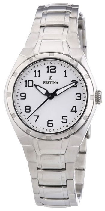 Festina F16485.A - женские наручные часы из коллекции SportFestina<br><br><br>Бренд: Festina<br>Модель: Festina F16485/A<br>Артикул: F16485.A<br>Вариант артикула: None<br>Коллекция: Sport<br>Подколлекция: None<br>Страна: Испания<br>Пол: женские<br>Тип механизма: кварцевые<br>Механизм: None<br>Количество камней: None<br>Автоподзавод: None<br>Источник энергии: от батарейки<br>Срок службы элемента питания: None<br>Дисплей: стрелки<br>Цифры: арабские<br>Водозащита: WR 30<br>Противоударные: None<br>Материал корпуса: нерж. сталь<br>Материал браслета: нерж. сталь<br>Материал безеля: None<br>Стекло: минеральное<br>Антибликовое покрытие: None<br>Цвет корпуса: None<br>Цвет браслета: None<br>Цвет циферблата: None<br>Цвет безеля: None<br>Размеры: 37x8 мм<br>Диаметр: None<br>Диаметр корпуса: None<br>Толщина: None<br>Ширина ремешка: None<br>Вес: None<br>Спорт-функции: None<br>Подсветка: стрелок<br>Вставка: None<br>Отображение даты: None<br>Хронограф: None<br>Таймер: None<br>Термометр: None<br>Хронометр: None<br>GPS: None<br>Радиосинхронизация: None<br>Барометр: None<br>Скелетон: None<br>Дополнительная информация: None<br>Дополнительные функции: None