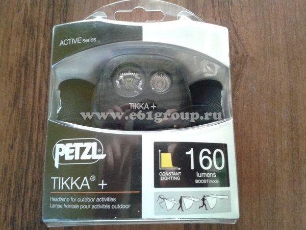 светодиодный фонарь Petzl TIKKA+ цена