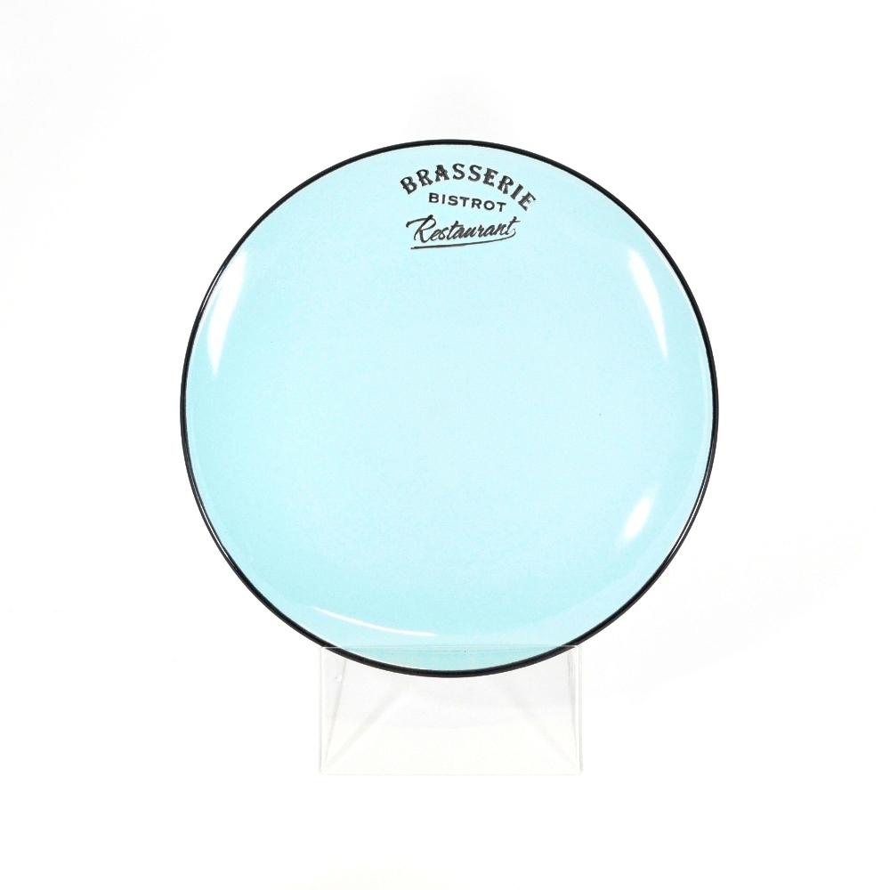Тарелка десертная 21,5 см голубая (Фарфор и керамика Antic Line)Фарфор и керамика Antic Line<br>Тарелка десертная 21,5 см голубая<br>Керамика, стилизовано под эмалированный металл<br>Производитель: Antic Line, Франция<br>