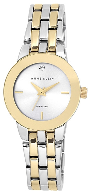Anne Klein 1931SVTT - женские наручные часы из коллекции DiamondAnne Klein<br><br><br>Бренд: Anne Klein<br>Модель: Anne Klein 1931 SVTT<br>Артикул: 1931SVTT<br>Вариант артикула: None<br>Коллекция: Diamond<br>Подколлекция: None<br>Страна: США<br>Пол: женские<br>Тип механизма: кварцевые<br>Механизм: None<br>Количество камней: None<br>Автоподзавод: None<br>Источник энергии: от батарейки<br>Срок службы элемента питания: None<br>Дисплей: стрелки<br>Цифры: отсутствуют<br>Водозащита: WR 30<br>Противоударные: None<br>Материал корпуса: не указан, PVD покрытие (частичное)<br>Материал браслета: не указан, PVD покрытие (частичное)<br>Материал безеля: None<br>Стекло: минеральное<br>Антибликовое покрытие: None<br>Цвет корпуса: None<br>Цвет браслета: None<br>Цвет циферблата: None<br>Цвет безеля: None<br>Размеры: 30 мм<br>Диаметр: None<br>Диаметр корпуса: None<br>Толщина: None<br>Ширина ремешка: None<br>Вес: None<br>Спорт-функции: None<br>Подсветка: None<br>Вставка: бриллиант<br>Отображение даты: None<br>Хронограф: None<br>Таймер: None<br>Термометр: None<br>Хронометр: None<br>GPS: None<br>Радиосинхронизация: None<br>Барометр: None<br>Скелетон: None<br>Дополнительная информация: None<br>Дополнительные функции: None
