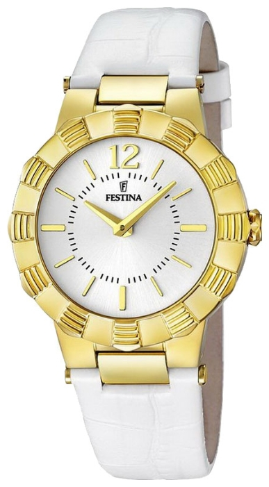 Festina F16735.1 - женские наручные часы из коллекции MademoiselleFestina<br><br><br>Бренд: Festina<br>Модель: Festina F16735/1<br>Артикул: F16735.1<br>Вариант артикула: None<br>Коллекция: Mademoiselle<br>Подколлекция: None<br>Страна: Испания<br>Пол: женские<br>Тип механизма: кварцевые<br>Механизм: None<br>Количество камней: None<br>Автоподзавод: None<br>Источник энергии: от батарейки<br>Срок службы элемента питания: None<br>Дисплей: стрелки<br>Цифры: арабские<br>Водозащита: WR 50<br>Противоударные: None<br>Материал корпуса: нерж. сталь, PVD покрытие: позолота (полное)<br>Материал браслета: кожа (не указан)<br>Материал безеля: None<br>Стекло: минеральное<br>Антибликовое покрытие: None<br>Цвет корпуса: None<br>Цвет браслета: None<br>Цвет циферблата: None<br>Цвет безеля: None<br>Размеры: 34x9 мм<br>Диаметр: None<br>Диаметр корпуса: None<br>Толщина: None<br>Ширина ремешка: None<br>Вес: None<br>Спорт-функции: None<br>Подсветка: None<br>Вставка: None<br>Отображение даты: None<br>Хронограф: None<br>Таймер: None<br>Термометр: None<br>Хронометр: None<br>GPS: None<br>Радиосинхронизация: None<br>Барометр: None<br>Скелетон: None<br>Дополнительная информация: None<br>Дополнительные функции: None