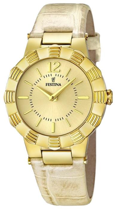 Festina F16735.2 - женские наручные часы из коллекции MademoiselleFestina<br><br><br>Бренд: Festina<br>Модель: Festina F16735/2<br>Артикул: F16735.2<br>Вариант артикула: None<br>Коллекция: Mademoiselle<br>Подколлекция: None<br>Страна: Испания<br>Пол: женские<br>Тип механизма: кварцевые<br>Механизм: None<br>Количество камней: None<br>Автоподзавод: None<br>Источник энергии: от батарейки<br>Срок службы элемента питания: None<br>Дисплей: стрелки<br>Цифры: арабские<br>Водозащита: WR 50<br>Противоударные: None<br>Материал корпуса: нерж. сталь, PVD покрытие: позолота (полное)<br>Материал браслета: кожа (не указан)<br>Материал безеля: None<br>Стекло: минеральное<br>Антибликовое покрытие: None<br>Цвет корпуса: None<br>Цвет браслета: None<br>Цвет циферблата: None<br>Цвет безеля: None<br>Размеры: 34x9 мм<br>Диаметр: None<br>Диаметр корпуса: None<br>Толщина: None<br>Ширина ремешка: None<br>Вес: None<br>Спорт-функции: None<br>Подсветка: None<br>Вставка: None<br>Отображение даты: None<br>Хронограф: None<br>Таймер: None<br>Термометр: None<br>Хронометр: None<br>GPS: None<br>Радиосинхронизация: None<br>Барометр: None<br>Скелетон: None<br>Дополнительная информация: None<br>Дополнительные функции: None