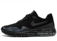 Кроссовки Мужские Nike Air Max 1 Black White Speck