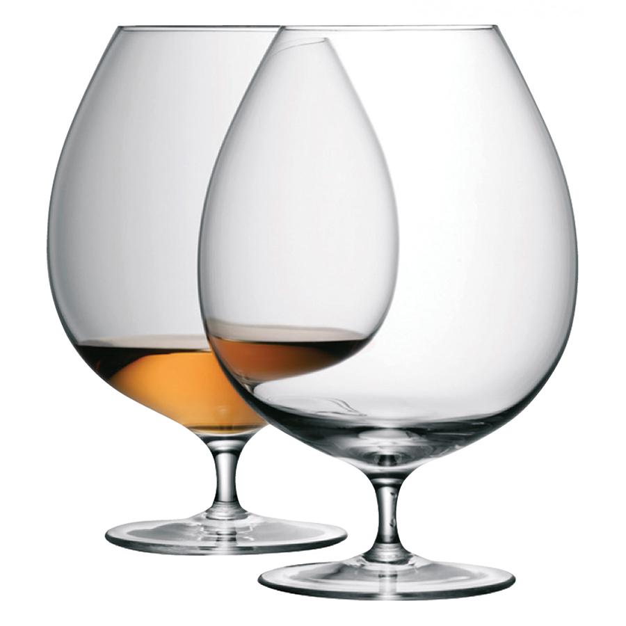 Бокал для бренди Bar 2 шт. LSA G709-32-991Бокалы и стаканы<br>Элегантность — вне времени. Сет бокалов для бренди из стекла ручного производства от LSA International подчеркнет изысканную сервировку для домашней вечеринки. Набор упакован в красивую коробку и станет отличным подарком на любой праздник.<br>