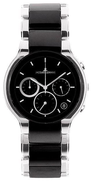 Jacques Lemans 1-1580A - мужские наручные часы из коллекции DublinJacques Lemans<br><br><br>Бренд: Jacques Lemans<br>Модель: Jacques Lemans 1-1580A<br>Артикул: 1-1580A<br>Вариант артикула: None<br>Коллекция: Dublin<br>Подколлекция: None<br>Страна: Австрия<br>Пол: мужские<br>Тип механизма: кварцевые<br>Механизм: None<br>Количество камней: None<br>Автоподзавод: None<br>Источник энергии: от батарейки<br>Срок службы элемента питания: None<br>Дисплей: стрелки<br>Цифры: отсутствуют<br>Водозащита: WR 5<br>Противоударные: None<br>Материал корпуса: керамика<br>Материал браслета: не указан<br>Материал безеля: None<br>Стекло: сапфировое<br>Антибликовое покрытие: None<br>Цвет корпуса: None<br>Цвет браслета: None<br>Цвет циферблата: None<br>Цвет безеля: None<br>Размеры: 41x41 мм<br>Диаметр: None<br>Диаметр корпуса: None<br>Толщина: None<br>Ширина ремешка: None<br>Вес: None<br>Спорт-функции: None<br>Подсветка: None<br>Вставка: None<br>Отображение даты: число<br>Хронограф: None<br>Таймер: None<br>Термометр: None<br>Хронометр: None<br>GPS: None<br>Радиосинхронизация: None<br>Барометр: None<br>Скелетон: None<br>Дополнительная информация: None<br>Дополнительные функции: None