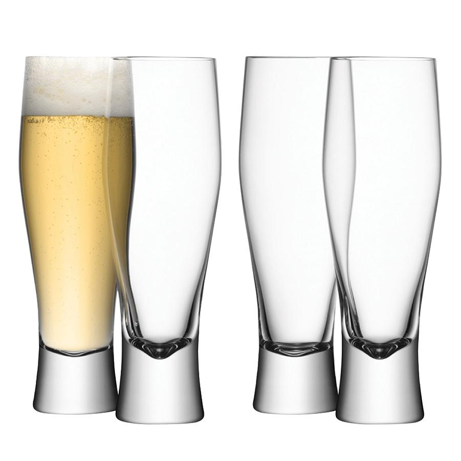Бокал для пива Bar 4 шт. LSA G271-14-991Бокалы и стаканы<br>Элегантность — вне времени. Набор бокалов для пива из стекла ручного производства от LSA International подчеркнет&amp;nbsp,&amp;nbsp,изысканную сервировку для домашней вечеринки. Набор упакован в красивую коробку и станет отличным подарком на любой праздник.<br>