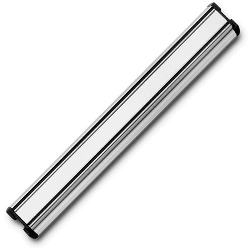 Держатель магнитный 30 см, цвет стальной матовый WUSTHOF Magnetic holders арт. 7227/30Магнитные держатели для ножей<br>Осовободить рабочую поверхность на небольшой кухнеисохранить ножи острыми дольше.<br>Магнитный держатель для металлических кухонных ножей, ножниц крепится на стену или дверцу шкафа. В отличие от подставки для ножей - не занимает место на рабочей поверхности. Можно повесить в любомместе, удобном для правшей и левшей. <br>Кухонные ножи при правильном хранении, когда их лезвия не соприкасаются с друг другом или иными металлическими предметами, как это случается при хранении в ящике, дольше держат заточку.<br>