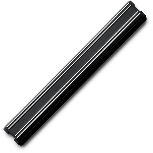 Держатель магнитный 30 см, цвет черный WUSTHOF Magnetic holders арт. 7225/30Магнитные держатели для ножей<br>Осовободить рабочую поверхность на небольшой кухнеисохранить ножи острыми дольше.<br>Магнитный держатель для металлических кухонных ножей, ножниц крепится на стену или дверцу шкафа. В отличие от подставки для ножей - не занимает место на рабочей поверхности. Можно повесить в любомместе, удобном для правшей и левшей. <br>Кухонные ножи при правильном хранении, когда их лезвия не соприкасаются с друг другом или иными металлическими предметами, как это случается при хранении в ящике, дольше держат заточку.<br>