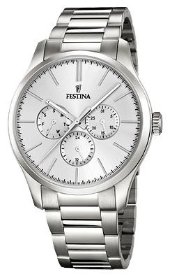 Festina F16810.1 - женские наручные часы из коллекции Boyfriend CollectionFestina<br><br><br>Бренд: Festina<br>Модель: Festina F16810/1<br>Артикул: F16810.1<br>Вариант артикула: None<br>Коллекция: Boyfriend Collection<br>Подколлекция: None<br>Страна: Испания<br>Пол: женские<br>Тип механизма: кварцевые<br>Механизм: M6P29<br>Количество камней: None<br>Автоподзавод: None<br>Источник энергии: от батарейки<br>Срок службы элемента питания: None<br>Дисплей: стрелки<br>Цифры: отсутствуют<br>Водозащита: WR 50<br>Противоударные: None<br>Материал корпуса: нерж. сталь<br>Материал браслета: нерж. сталь<br>Материал безеля: None<br>Стекло: минеральное<br>Антибликовое покрытие: None<br>Цвет корпуса: None<br>Цвет браслета: None<br>Цвет циферблата: None<br>Цвет безеля: None<br>Размеры: 43.8 мм<br>Диаметр: None<br>Диаметр корпуса: None<br>Толщина: None<br>Ширина ремешка: None<br>Вес: None<br>Спорт-функции: None<br>Подсветка: стрелок<br>Вставка: None<br>Отображение даты: число, день недели<br>Хронограф: None<br>Таймер: None<br>Термометр: None<br>Хронометр: None<br>GPS: None<br>Радиосинхронизация: None<br>Барометр: None<br>Скелетон: None<br>Дополнительная информация: None<br>Дополнительные функции: None