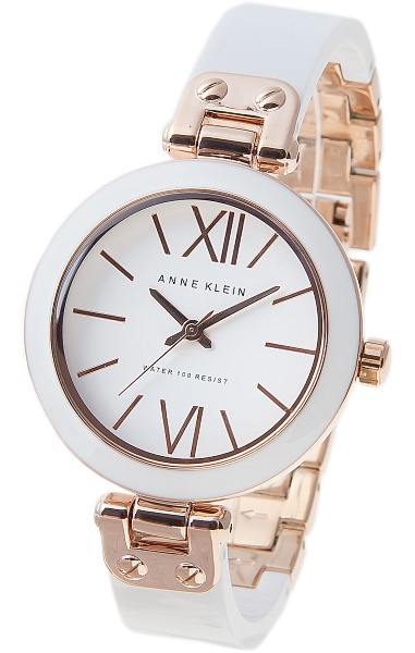 Anne Klein 1196RGWT - женские наручные часы из коллекции Big BangAnne Klein<br><br><br>Бренд: Anne Klein<br>Модель: Anne Klein 1196 RGWT<br>Артикул: 1196RGWT<br>Вариант артикула: None<br>Коллекция: Big Bang<br>Подколлекция: None<br>Страна: США<br>Пол: женские<br>Тип механизма: кварцевые<br>Механизм: None<br>Количество камней: None<br>Автоподзавод: None<br>Источник энергии: от батарейки<br>Срок службы элемента питания: None<br>Дисплей: стрелки<br>Цифры: римские<br>Водозащита: WR 30<br>Противоударные: None<br>Материал корпуса: не указан, PVD покрытие (частичное)<br>Материал браслета: не указан, PVD покрытие (частичное)<br>Материал безеля: None<br>Стекло: минеральное<br>Антибликовое покрытие: None<br>Цвет корпуса: None<br>Цвет браслета: None<br>Цвет циферблата: None<br>Цвет безеля: None<br>Размеры: 34 мм<br>Диаметр: None<br>Диаметр корпуса: None<br>Толщина: None<br>Ширина ремешка: None<br>Вес: None<br>Спорт-функции: None<br>Подсветка: None<br>Вставка: None<br>Отображение даты: None<br>Хронограф: None<br>Таймер: None<br>Термометр: None<br>Хронометр: None<br>GPS: None<br>Радиосинхронизация: None<br>Барометр: None<br>Скелетон: None<br>Дополнительная информация: корпус и браслет с пластиковыми вставками<br>Дополнительные функции: None
