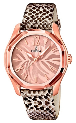 Festina F16739.1 - женские наручные часыFestina<br><br><br>Бренд: Festina<br>Модель: Festina F16739/1<br>Артикул: F16739.1<br>Вариант артикула: None<br>Коллекция: None<br>Подколлекция: None<br>Страна: Испания<br>Пол: женские<br>Тип механизма: кварцевые<br>Механизм: M2035<br>Количество камней: None<br>Автоподзавод: None<br>Источник энергии: от батарейки<br>Срок службы элемента питания: None<br>Дисплей: стрелки<br>Цифры: арабские<br>Водозащита: WR 50<br>Противоударные: None<br>Материал корпуса: нерж. сталь, PVD покрытие (полное)<br>Материал браслета: кожа<br>Материал безеля: None<br>Стекло: минеральное<br>Антибликовое покрытие: None<br>Цвет корпуса: None<br>Цвет браслета: None<br>Цвет циферблата: None<br>Цвет безеля: None<br>Размеры: 36.4 мм<br>Диаметр: None<br>Диаметр корпуса: None<br>Толщина: None<br>Ширина ремешка: None<br>Вес: None<br>Спорт-функции: None<br>Подсветка: стрелок<br>Вставка: None<br>Отображение даты: None<br>Хронограф: None<br>Таймер: None<br>Термометр: None<br>Хронометр: None<br>GPS: None<br>Радиосинхронизация: None<br>Барометр: None<br>Скелетон: None<br>Дополнительная информация: None<br>Дополнительные функции: None