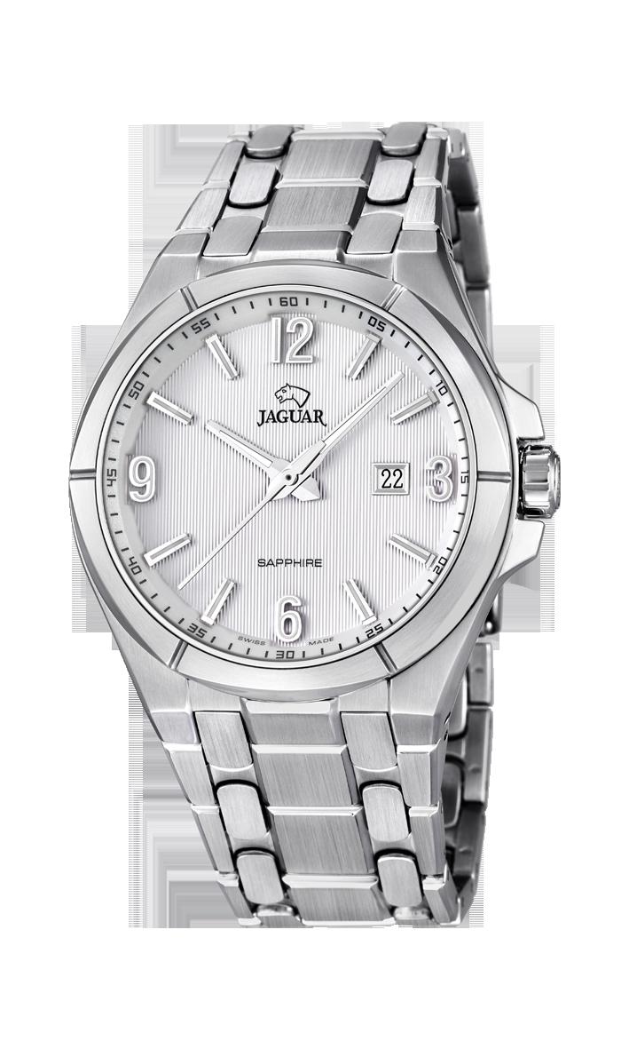 Jaguar J668_1 - мужские наручные часыJaguar<br><br><br>Бренд: Jaguar<br>Модель: Jaguar J668_1<br>Артикул: J668_1<br>Вариант артикула: None<br>Коллекция: None<br>Подколлекция: None<br>Страна: Швейцария<br>Пол: мужские<br>Тип механизма: кварцевые<br>Механизм: None<br>Количество камней: None<br>Автоподзавод: None<br>Источник энергии: от батарейки<br>Срок службы элемента питания: None<br>Дисплей: стрелки<br>Цифры: арабские<br>Водозащита: WR 50<br>Противоударные: None<br>Материал корпуса: нерж. сталь<br>Материал браслета: нерж. сталь<br>Материал безеля: None<br>Стекло: сапфировое<br>Антибликовое покрытие: None<br>Цвет корпуса: None<br>Цвет браслета: None<br>Цвет циферблата: None<br>Цвет безеля: None<br>Размеры: 42x10 мм<br>Диаметр: None<br>Диаметр корпуса: None<br>Толщина: None<br>Ширина ремешка: None<br>Вес: None<br>Спорт-функции: None<br>Подсветка: стрелок<br>Вставка: None<br>Отображение даты: число<br>Хронограф: None<br>Таймер: None<br>Термометр: None<br>Хронометр: None<br>GPS: None<br>Радиосинхронизация: None<br>Барометр: None<br>Скелетон: None<br>Дополнительная информация: None<br>Дополнительные функции: None