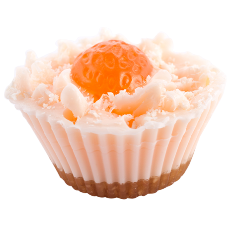 Мыло Маракуйя (Мыло в форме кексов и сладостей)Мыло в форме кексов и сладостей<br>Мыло Маракуйя Десерт из фруктов и редких винных персиков 75г.<br>Овсяные сладости с отшелушивающим эффектом … вихрь приятных сладких запахов… это мыло – пирожное, не предназначенное для еды!<br>Это кусочки настоящего мыла, нежного и увлажняющего, для любящих сладости детей и взрослых!<br>Не употреблять в пищу<br>Хранить в недоступном месте для детей до 4-х лет<br>