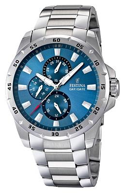 Festina F16662.2 - мужские наручные часы из коллекции MultifunctionFestina<br><br><br>Бренд: Festina<br>Модель: Festina F16662/2<br>Артикул: F16662.2<br>Вариант артикула: None<br>Коллекция: Multifunction<br>Подколлекция: None<br>Страна: Испания<br>Пол: мужские<br>Тип механизма: кварцевые<br>Механизм: M6P27<br>Количество камней: None<br>Автоподзавод: None<br>Источник энергии: от батарейки<br>Срок службы элемента питания: None<br>Дисплей: стрелки<br>Цифры: отсутствуют<br>Водозащита: WR 100<br>Противоударные: None<br>Материал корпуса: нерж. сталь<br>Материал браслета: нерж. сталь<br>Материал безеля: None<br>Стекло: минеральное<br>Антибликовое покрытие: None<br>Цвет корпуса: None<br>Цвет браслета: None<br>Цвет циферблата: None<br>Цвет безеля: None<br>Размеры: 45x12 мм<br>Диаметр: None<br>Диаметр корпуса: None<br>Толщина: None<br>Ширина ремешка: None<br>Вес: 177 г<br>Спорт-функции: None<br>Подсветка: стрелок<br>Вставка: None<br>Отображение даты: число, день недели<br>Хронограф: None<br>Таймер: None<br>Термометр: None<br>Хронометр: None<br>GPS: None<br>Радиосинхронизация: None<br>Барометр: None<br>Скелетон: None<br>Дополнительная информация: None<br>Дополнительные функции: None