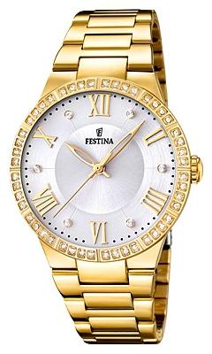 Festina F16720.1 - женские наручные часы из коллекции MademoiselleFestina<br><br><br>Бренд: Festina<br>Модель: Festina F16720/1<br>Артикул: F16720.1<br>Вариант артикула: None<br>Коллекция: Mademoiselle<br>Подколлекция: None<br>Страна: Испания<br>Пол: женские<br>Тип механизма: кварцевые<br>Механизм: M2035<br>Количество камней: None<br>Автоподзавод: None<br>Источник энергии: от батарейки<br>Срок службы элемента питания: None<br>Дисплей: стрелки<br>Цифры: римские<br>Водозащита: WR 50<br>Противоударные: None<br>Материал корпуса: нерж. сталь, PVD покрытие (полное)<br>Материал браслета: нерж. сталь, PVD покрытие (полное)<br>Материал безеля: None<br>Стекло: минеральное<br>Антибликовое покрытие: None<br>Цвет корпуса: None<br>Цвет браслета: None<br>Цвет циферблата: None<br>Цвет безеля: None<br>Размеры: 36.8 мм<br>Диаметр: None<br>Диаметр корпуса: None<br>Толщина: None<br>Ширина ремешка: None<br>Вес: None<br>Спорт-функции: None<br>Подсветка: None<br>Вставка: циркон<br>Отображение даты: None<br>Хронограф: None<br>Таймер: None<br>Термометр: None<br>Хронометр: None<br>GPS: None<br>Радиосинхронизация: None<br>Барометр: None<br>Скелетон: None<br>Дополнительная информация: None<br>Дополнительные функции: None
