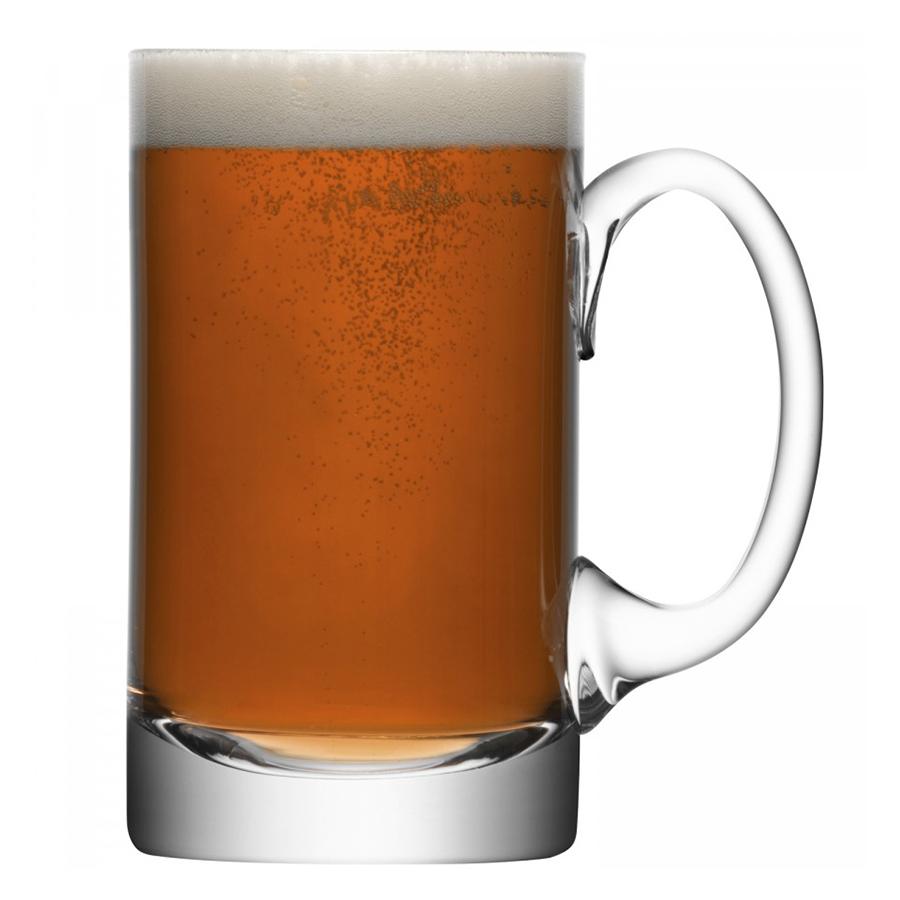 Кружка для пива высокая Bar LSA G108-27-991Бокалы и стаканы<br>Элегантность — вне времени. Кружка для пива из стекла ручного производства от LSA International подчеркнет изысканную сервировку для домашней вечеринки. Кружка станет отличным подарком на любой праздник.<br>