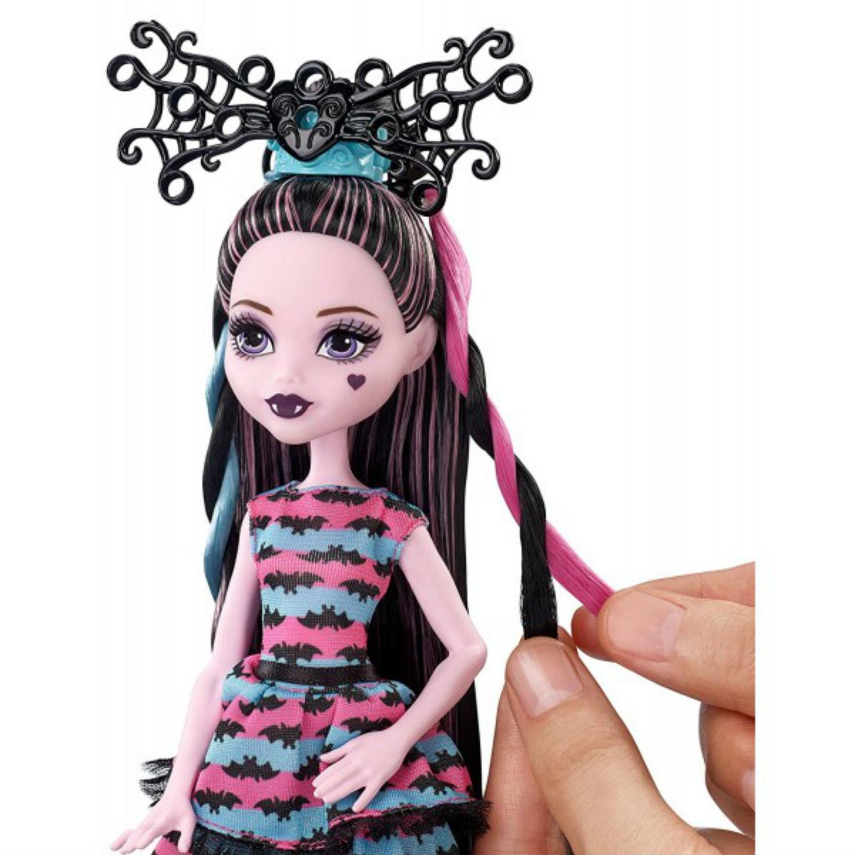 Кукла Монстер Хай Дракулаура (Draculaura) - Вечеринка Причёсок (Party Hair), Mattel