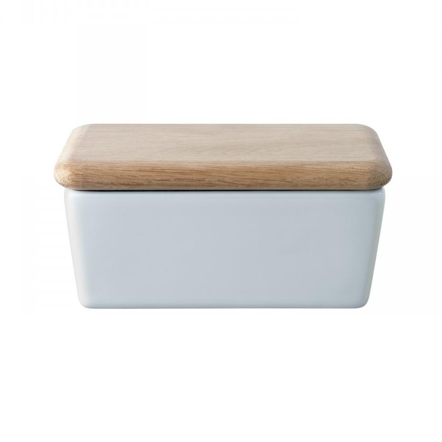 Маслёнка с крышкой Dine 10 см LSA P030-00-997Масленки<br>Dine — коллекция фарфоровой посуды, сочетающей в себе классику и современный дизайн. Маслёнка с крышкой из дуба прекрасно подойдет как для ежедневного использования, так и для торжественных обедов и ужинов. Маслёнка упакована в коробку и станет отличным подарком на любой праздник.<br>