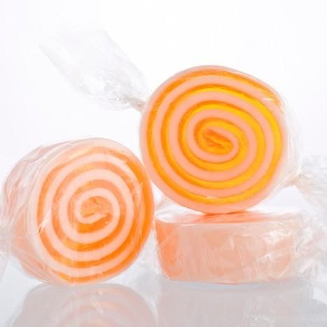 Мыло-конфета Мандарин (Мыло в форме кексов и сладостей)Мыло в форме кексов и сладостей<br>Мыло в форме конфет 45г. Мандарин<br>Не употреблять в пищу<br>Хранить в недоступном месте для детей до 4-х лет<br>
