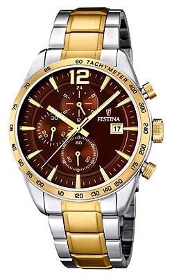 Festina F16761.3 - мужские наручные часы из коллекции ChronographFestina<br><br><br>Бренд: Festina<br>Модель: Festina F16761/3<br>Артикул: F16761.3<br>Вариант артикула: None<br>Коллекция: Chronograph<br>Подколлекция: None<br>Страна: Испания<br>Пол: мужские<br>Тип механизма: кварцевые<br>Механизм: MJS15<br>Количество камней: None<br>Автоподзавод: None<br>Источник энергии: от батарейки<br>Срок службы элемента питания: None<br>Дисплей: стрелки<br>Цифры: арабские<br>Водозащита: WR 50<br>Противоударные: None<br>Материал корпуса: нерж. сталь, PVD покрытие (частичное)<br>Материал браслета: нерж. сталь, PVD покрытие (частичное)<br>Материал безеля: None<br>Стекло: минеральное<br>Антибликовое покрытие: None<br>Цвет корпуса: None<br>Цвет браслета: None<br>Цвет циферблата: None<br>Цвет безеля: None<br>Размеры: 44 мм<br>Диаметр: None<br>Диаметр корпуса: None<br>Толщина: None<br>Ширина ремешка: None<br>Вес: None<br>Спорт-функции: секундомер<br>Подсветка: стрелок<br>Вставка: None<br>Отображение даты: число<br>Хронограф: есть<br>Таймер: None<br>Термометр: None<br>Хронометр: None<br>GPS: None<br>Радиосинхронизация: None<br>Барометр: None<br>Скелетон: None<br>Дополнительная информация: None<br>Дополнительные функции: None