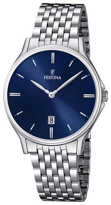 Festina F16744.3 - мужские наручные часы из коллекции ClassicFestina<br><br><br>Бренд: Festina<br>Модель: Festina F16744/3<br>Артикул: F16744.3<br>Вариант артикула: None<br>Коллекция: Classic<br>Подколлекция: None<br>Страна: Испания<br>Пол: мужские<br>Тип механизма: кварцевые<br>Механизм: MGM15<br>Количество камней: None<br>Автоподзавод: None<br>Источник энергии: от батарейки<br>Срок службы элемента питания: None<br>Дисплей: стрелки<br>Цифры: отсутствуют<br>Водозащита: WR 50<br>Противоударные: None<br>Материал корпуса: нерж. сталь<br>Материал браслета: нерж. сталь<br>Материал безеля: None<br>Стекло: минеральное<br>Антибликовое покрытие: None<br>Цвет корпуса: None<br>Цвет браслета: None<br>Цвет циферблата: None<br>Цвет безеля: None<br>Размеры: 39.2 мм<br>Диаметр: None<br>Диаметр корпуса: None<br>Толщина: None<br>Ширина ремешка: None<br>Вес: None<br>Спорт-функции: None<br>Подсветка: None<br>Вставка: None<br>Отображение даты: число<br>Хронограф: None<br>Таймер: None<br>Термометр: None<br>Хронометр: None<br>GPS: None<br>Радиосинхронизация: None<br>Барометр: None<br>Скелетон: None<br>Дополнительная информация: None<br>Дополнительные функции: None