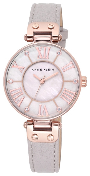 Anne Klein 9918RGTP - женские наручные часы из коллекции RingAnne Klein<br><br><br>Бренд: Anne Klein<br>Модель: Anne Klein 9918 RGTP<br>Артикул: 9918RGTP<br>Вариант артикула: None<br>Коллекция: Ring<br>Подколлекция: None<br>Страна: США<br>Пол: женские<br>Тип механизма: кварцевые<br>Механизм: None<br>Количество камней: None<br>Автоподзавод: None<br>Источник энергии: от батарейки<br>Срок службы элемента питания: None<br>Дисплей: стрелки<br>Цифры: римские<br>Водозащита: WR 30<br>Противоударные: None<br>Материал корпуса: не указан, PVD покрытие (полное)<br>Материал браслета: кожа<br>Материал безеля: None<br>Стекло: минеральное<br>Антибликовое покрытие: None<br>Цвет корпуса: None<br>Цвет браслета: None<br>Цвет циферблата: None<br>Цвет безеля: None<br>Размеры: 34 мм<br>Диаметр: None<br>Диаметр корпуса: None<br>Толщина: None<br>Ширина ремешка: None<br>Вес: None<br>Спорт-функции: None<br>Подсветка: None<br>Вставка: None<br>Отображение даты: None<br>Хронограф: None<br>Таймер: None<br>Термометр: None<br>Хронометр: None<br>GPS: None<br>Радиосинхронизация: None<br>Барометр: None<br>Скелетон: None<br>Дополнительная информация: None<br>Дополнительные функции: None