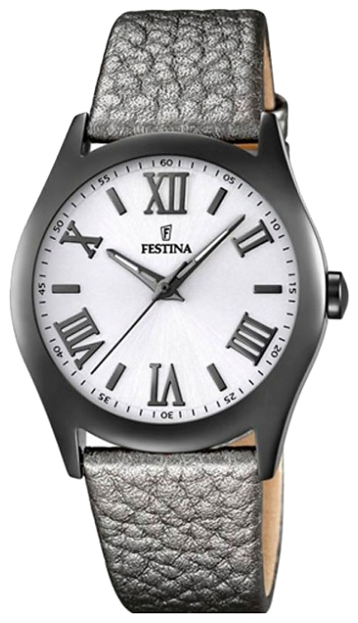 Festina F16649.8 - женские наручные часыFestina<br><br><br>Бренд: Festina<br>Модель: Festina F16649/8<br>Артикул: F16649.8<br>Вариант артикула: None<br>Коллекция: None<br>Подколлекция: None<br>Страна: Испания<br>Пол: женские<br>Тип механизма: кварцевые<br>Механизм: M2035<br>Количество камней: None<br>Автоподзавод: None<br>Источник энергии: от батарейки<br>Срок службы элемента питания: None<br>Дисплей: стрелки<br>Цифры: римские<br>Водозащита: WR 50<br>Противоударные: None<br>Материал корпуса: нерж. сталь, полное покрытие корпуса<br>Материал браслета: кожа<br>Материал безеля: None<br>Стекло: минеральное<br>Антибликовое покрытие: None<br>Цвет корпуса: None<br>Цвет браслета: None<br>Цвет циферблата: None<br>Цвет безеля: None<br>Размеры: 36x8 мм<br>Диаметр: None<br>Диаметр корпуса: None<br>Толщина: None<br>Ширина ремешка: 18 см<br>Вес: 43 г<br>Спорт-функции: None<br>Подсветка: стрелок<br>Вставка: None<br>Отображение даты: None<br>Хронограф: None<br>Таймер: None<br>Термометр: None<br>Хронометр: None<br>GPS: None<br>Радиосинхронизация: None<br>Барометр: None<br>Скелетон: None<br>Дополнительная информация: None<br>Дополнительные функции: None