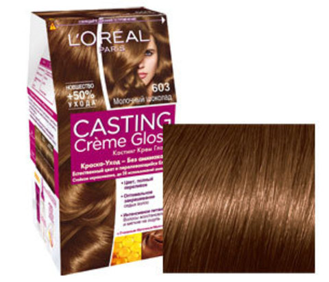Кастинг цвет волос молочный шоколад