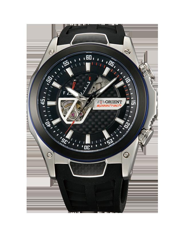 Orient DA05002B / SDA05002B0 - мужские наручные часыORIENT<br><br><br>Бренд: ORIENT<br>Модель: ORIENT DA05002B<br>Артикул: DA05002B<br>Вариант артикула: SDA05002B0<br>Коллекция: None<br>Подколлекция: None<br>Страна: Япония<br>Пол: мужские<br>Тип механизма: механические<br>Механизм: 40R56<br>Количество камней: 22<br>Автоподзавод: есть<br>Источник энергии: пружинный механизм<br>Срок службы элемента питания: None<br>Дисплей: стрелки<br>Цифры: отсутствуют<br>Водозащита: WR 100<br>Противоударные: None<br>Материал корпуса: нерж. сталь + алюминий<br>Материал браслета: каучук<br>Материал безеля: None<br>Стекло: сапфировое<br>Антибликовое покрытие: есть<br>Цвет корпуса: None<br>Цвет браслета: None<br>Цвет циферблата: None<br>Цвет безеля: None<br>Размеры: 45x13.3 мм<br>Диаметр: None<br>Диаметр корпуса: None<br>Толщина: None<br>Ширина ремешка: None<br>Вес: None<br>Спорт-функции: None<br>Подсветка: стрелок<br>Вставка: None<br>Отображение даты: None<br>Хронограф: None<br>Таймер: None<br>Термометр: None<br>Хронометр: None<br>GPS: None<br>Радиосинхронизация: None<br>Барометр: None<br>Скелетон: да<br>Дополнительная информация: возможность ручного подзавода, функция остановки секундной стрелки, прозрачная задняя крышка, запас хода более 40 часов<br>Дополнительные функции: индикатор запаса хода