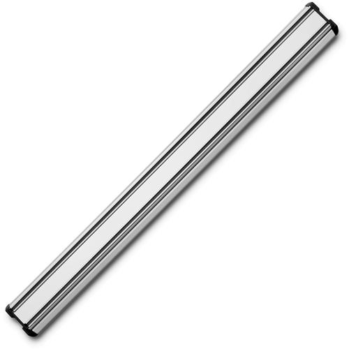 Держатель магнитный 45 см, цвет стальной матовый WUSTHOF Magnetic holders арт. 7227/45Магнитные держатели для ножей<br>Осовободить рабочую поверхность на небольшой кухнеисохранить ножи острыми дольше.<br>Магнитный держатель для металлических кухонных ножей, ножниц крепится на стену или дверцу шкафа. В отличие от подставки для ножей - не занимает место на рабочей поверхности. Можно повесить в любомместе, удобном для правшей и левшей. <br>Кухонные ножи при правильном хранении, когда их лезвия не соприкасаются с друг другом или иными металлическими предметами, как это случается при хранении в ящике, дольше держат заточку.<br>
