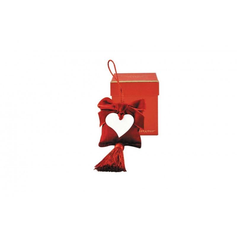 Серия «С ЛЮБОВЬЮ» Саше<br>Подушечка-саше с сердечком в маленькой бордовой коробке<br>